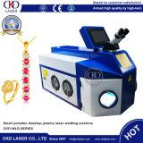 Ordinateur de bureau petit portable bijoux d'équipements de soudage au laser YAG pour Gold Silver anneau en métal Necklace Bangle chaînette