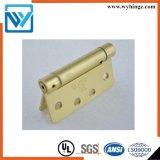 ドアのハードウェアの頑丈な品質の真鍮のヒンジ、ばねのドアヒンジ4のインチ2.5mmのばねのヒンジ