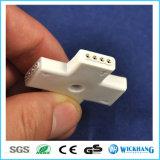 Переходника разъема 3528/5050 4-Pin RGB прокладки СИД прямой угловойой перекрестный