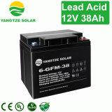 batterie d'acide de plomb de 6FM38 12V38ah