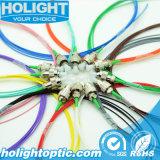 FC/APCの単一モードの光ファイバピグテール