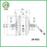 Kit eléctrico delantero de la conversión del motor de la rueda de bicicleta de Czjb con la batería