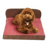 飼い犬の子犬の柔らかく暖かいソファーのパッドのベッド(bd5008)