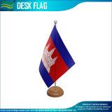 Drapeau de table en bois / bois Bureau d'un drapeau (J-NF09W01013)