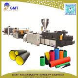 Производственная линия штрангя-прессовани трубы из волнистого листового металла стены пластмассы HDPE/PVC двойная