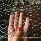 Rede revestida ou galvanizada do PVC 8*8 sextavado da galinha do ferro de fio