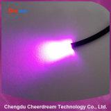 マルチ繊維のプラスチック終わりの白熱0.75mm光ファイバケーブル