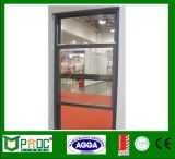Profilé en aluminium à simple vitrage Simple fenêtre suspendue avec matériel américain