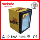 Porte en verre de réfrigérateur d'étalage de solutions de bière de boissons d'énergie