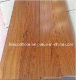 Suelo de madera dirigido teca natural de Birmania