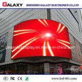 Fijos curvada/redondos al aire libre de interior instalan la pantalla de visualización video del alquiler LED/el panel/la muestra/la pared