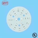 Изготовленный на заказ доска PCB PCB СИД алюминия круглая для света дороги