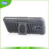 Den ultra dünnen Kickstand Riemen-Klipp abnehmen, der Shell-Pistolenhalfter-Telefon-Kasten für Moto G4/G4 plus schiebt
