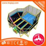Het Park van de Trampoline van de Apparatuur van de Trampoline van de Geschiktheid van het Vermaak van kinderen met Netto