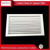 Sistemas HVAC de aluminio ventilación de lamas fijas de la rejilla de retorno