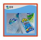 in-vormt Plastic Zelfklevende Etiketten in PE en de Flessen van pp, Koppen, Dozen