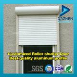 Profil T5 en aluminium de l'aluminium 6063 de la meilleure qualité pour la porte d'obturateur de roulement