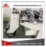 Machine automatique de découpage d'étiquettes auto-adhésive avec fonction de poinçonnage et de filage