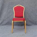 Blocco per grafici di alluminio del tessuto rosso che impila la presidenza Yc-Zl22-02 della camera di albergo