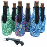 Neoprnee One Bottle / Can Cooler Sac à vin / sac fourre-tout Sac à main / sac à main pour Champagne, Chardonnay, Bouteille d'eau / Bouteille d'eau Fourre-tout + Sac à lunch