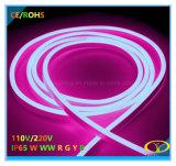 2835SMD 230 V IP65 Silicona LED Neon Flex con certificación CE RoHS