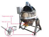 500L Ss304 che cucina la caldaia rivestita del riscaldamento di olio della caldaia per salsa ed ostruzione