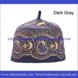 Cappello musulmano di preghiera del cappello turco, cappello islamico fatto dal materiale delle lane di 100% per l'uomo