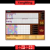 2016 систем казина Baccarat красного цвета/с стандартной таблицей покера знака предела индикации Ym-Ec01 Reslut