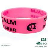 Bracelet en plastique de bracelet de cadeau d'émail promotionnel de Debossed (W-30)