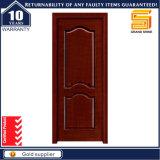 O mogno sólido composto de madeira de teca / Porta de madeira interior do painel de vidro