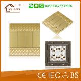 Hot New Products Interruptor de iluminação de quatro ganchos com certificado Ce