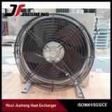 Refrigerador de petróleo hidráulico de aluminio del excavador de la aleta de la placa