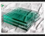 vidro laminado da segurança Tempered de 10-12mm para a balaustrada