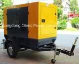 Gruppo elettrogeno mobile di Cummins 40kw 4BTA da vendere Africa