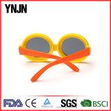 Óculos de sol redondos dos miúdos baratos elegantes dos desenhos animados da novidade (YJ-K245)