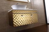 Modules populaires modernes de vanité de salle de bains d'acier inoxydable (T-083)
