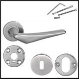 Mobiliário de alavanca interna Ss Finished High Quality Quality Door Handle