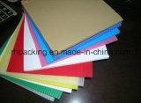 2мм-10мм гофрированный PP лист/флейты платы/гофрированного картона пластмассовые производителем системной платы