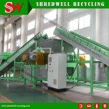 Máquina doble de la desfibradora del eje para reciclar la chatarra