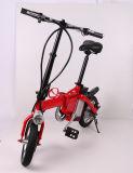 Bicicleta al por mayor mini portátil plegable eléctrica con batería extraíble