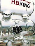 7mm 10 Tasten-Eis-Klemmglaspfeife