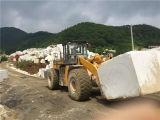247kwの大きい容量鉱山機械40tブロックのフォークリフトのローダー