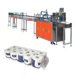 Máquina de Papel higiénico rollo de papel higiénico Baler máquina de embalaje