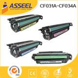 2017 nuevas series compatibles del cartucho de toner CF031A para el HP