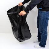 Sacchetto di immondizia di plastica nero per la famiglia