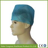 Protezione non tessuta a gettare del chirurgo con elastico alla parte posteriore