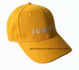 Chapeau de base-ball de mode avec Emb au panneau avant et au fléau solide pour l'interpréteur de commandes interactif (LY038)