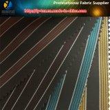 あや織りの縞、点の商品、ヤーンは染めたライニング(X082-85)のための縞を