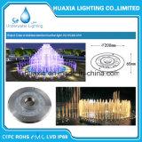 Luz del anillo de la fuente del acero inoxidable 27W RGB LED de DC12V
