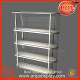 Góndola de Metal Comercial estantes de ropa de soporte de pantalla